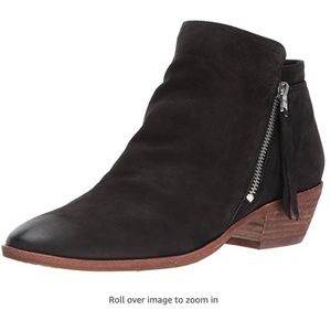 Sam Edelman Packer Ankle Boot Black Leather 5